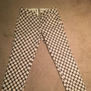 NWT Jcrew cafe capri pants size 00
